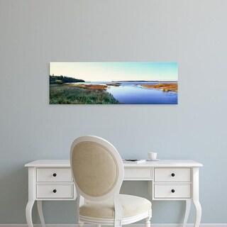 Easy Art Prints Panoramic Images's 'Rowleys Bay, Newport State Park, Door County, Wisconsin, USA' Premium Canvas Art
