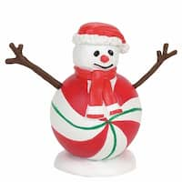 Department 56 Accessories for Villages Peppermint Snowman Accessory Figurine