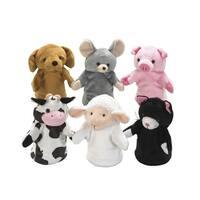 Childcraft Farm Animal Puppets, Set of 6