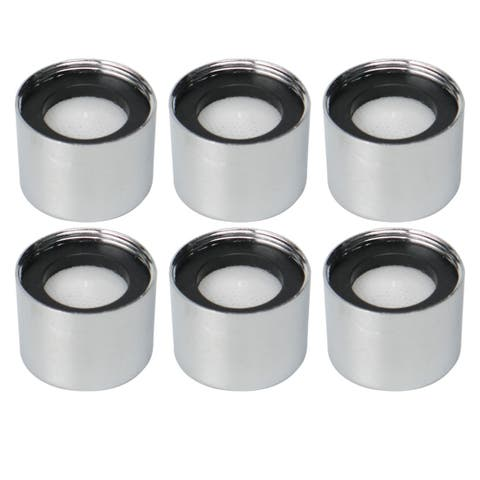 6pcs M22 Faucet Aerator Insert Faucet Replacement Water Filter Accessory White - M22,6pcs