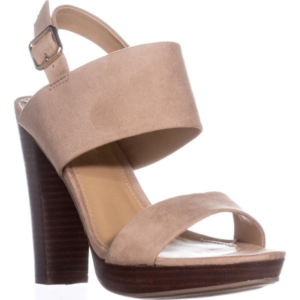Report Lawren Platform Slingback Sandals, Natural