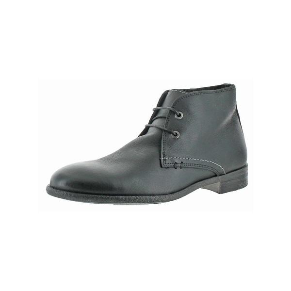 Shop Robert Wayne Mens Wisconsin Chukka Boots Round Toe Casual ... b6872f19e020