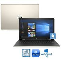 """HP 17-bs007cy Intel Core i3-7100 8GB 2TB HDD 17.3"""" HD+ WLED Touch Screen Laptop"""