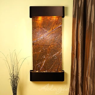 Cascade Springs Fountain - Blackened Copper - Rounded Edges - Choose Options