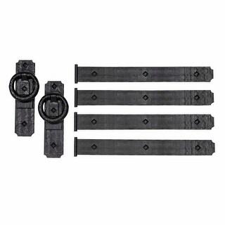ACP 430 Magnetic Garage Door Hardware - Set of 6