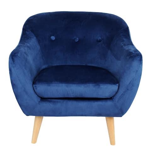 Joanna Velvet Arm Chair
