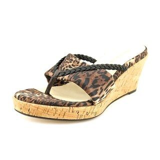 Taryn Rose Keely Women  Open Toe Canvas  Wedge Sandal