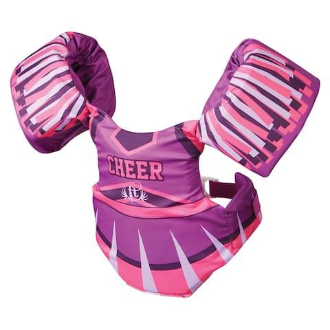 Full throttle little dippers life jacket cheerleader