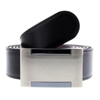 HS Collection HSB 9001 Black/Brown Reversible/Adjustable Mens Belt