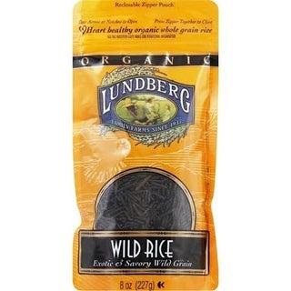 Lundberg Family Farms - Organic Wild Rice ( 6 - 8 oz bags)