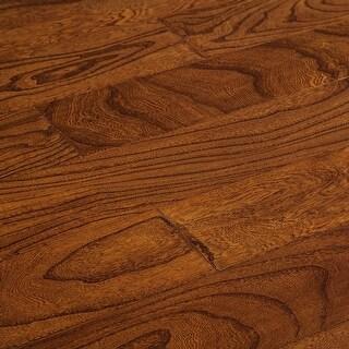 "SAMPLE Kanstar Engineered Hardwood - 26.25 sq. ft. Helios Collection Rustler / Elm / 5"" / 0.45"" / 9"""