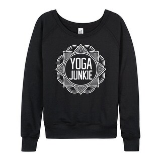 Yoga Junkie - Ladies Lightweight French Terry Pullover