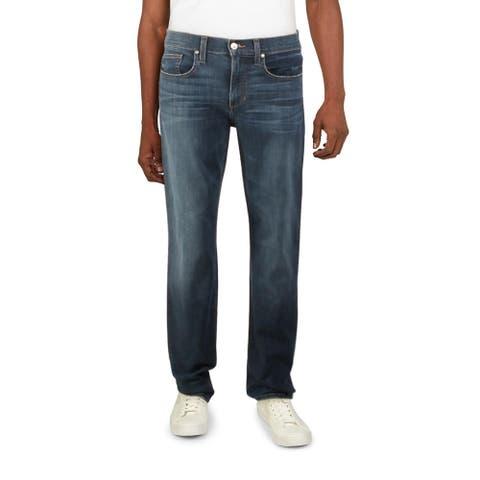 Joe's Jeans Mens Classic Jeans Mid-Rise Straight Leg - Duke