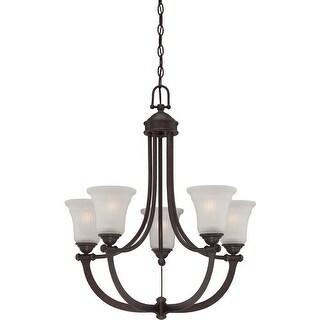 Nuvo Lighting 60/5315 Monroe 5 Light 1 Tier Chandelier