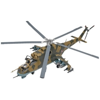 Plastic Model Kit-Mil-24 Hind Helicopter 1:48