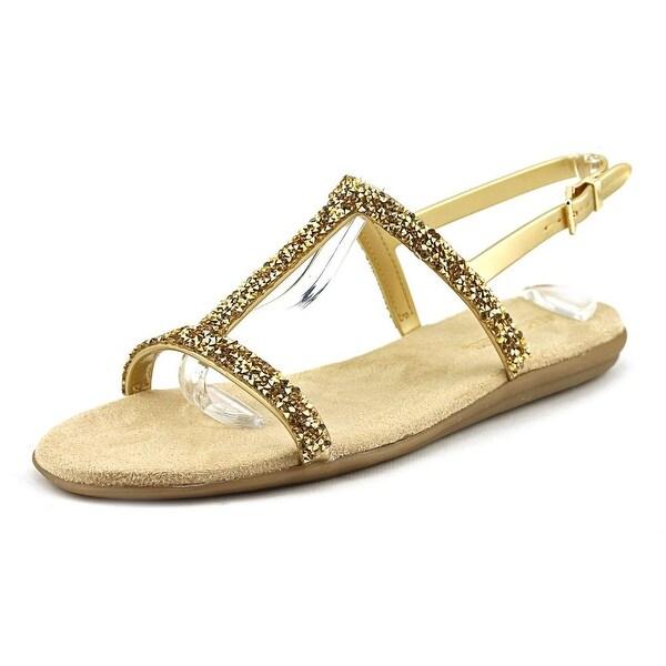 Aerosoles Good Chlue Women Gold Combo Sandals