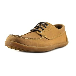 Timberland Odelay 4 Eye Camp  W Moc Toe Leather  Boat Shoe