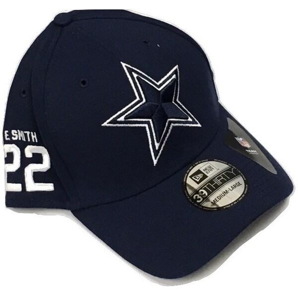 Dallas Cowboys Emmitt Smith Rear Stamp Cap