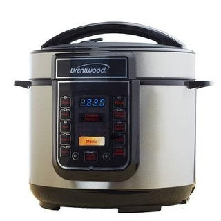 Brentwood Epc-526 5 Quart Digital Pressure Cooker - Stainless Steel