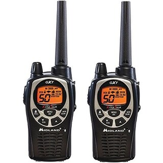 Gmrs Radio, 50 Ch., 36 Miles, Black