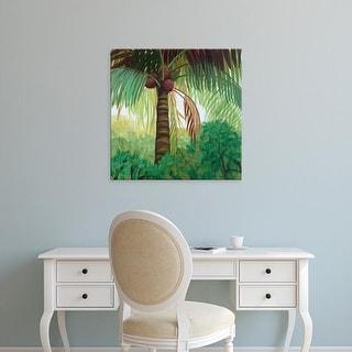 Easy Art Prints Julie Joy's 'Tropic Palm I' Premium Canvas Art