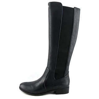 Jessica Simpson Womens Ranica Leather Round Toe Knee High Fashion Boots Fashi...