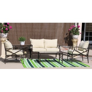Link to Luxi 2-piece set Loveseat with Coffee Table Similar Items in Outdoor Loveseat