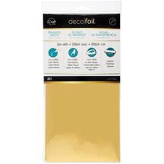 "Gold - Deco Foil Transfer Sheet 6""X12"" 20/Pkg"