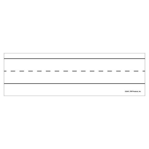 Tnt magnetic word strips white 10384