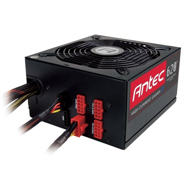 Antec Power Supply High Current Gamer-620M 620W M Atx 12V Eps12v Active Pfc Pcie