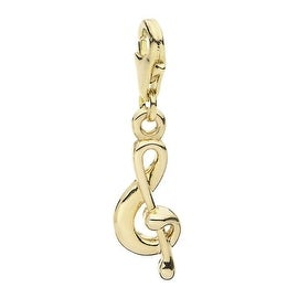 Julieta Jewelry Treble Clef Clip-On Charm