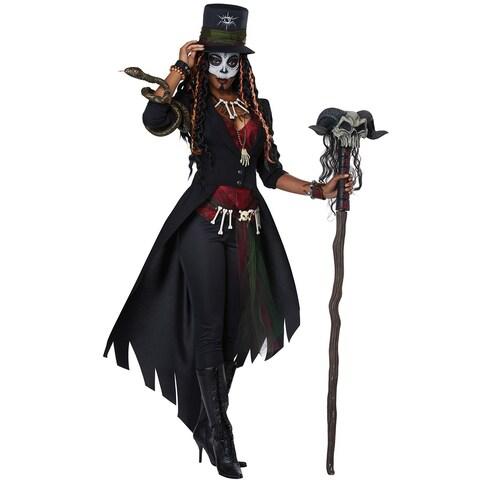 California Costumes Voodoo Magic Adult Costume - Black/Red