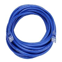 Cat5e 350Mhz Molded Ethernet UTP Cable, Blue, 10 ft.