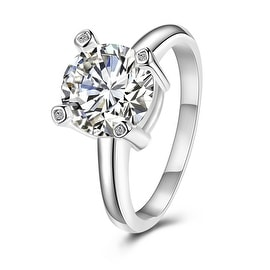 Classical Crystal Petite Wedding Ring