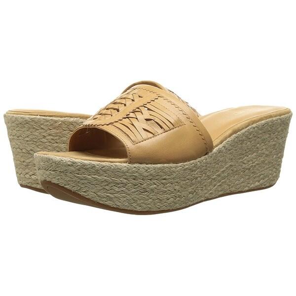 Nine West NEW Beige Women's Shoes Size 10M Raptor Leather Sandals