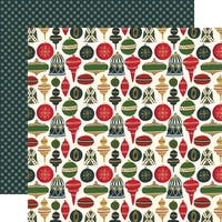 "Twas The Night Before Christmas Dbl-Sided Cardstock 12""X12""-Joyful Ornaments"