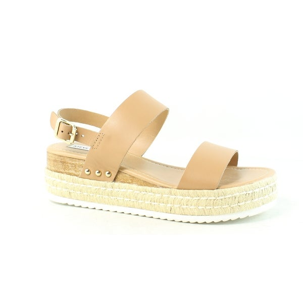 70681c33c37 Shop Steve Madden Womens Catia Natural Leather Espadrilles Size 9.5 ...