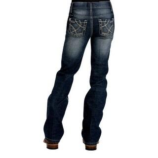 Cruel Girl Western Denim Jeans Girls Kids Adaline Slim Dk