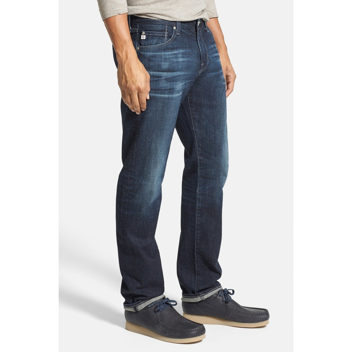 100% quality big discount of 2019 official supplier AG Mens Jeans Blue Size 34X34 The Graduate Straight Tailored-Leg