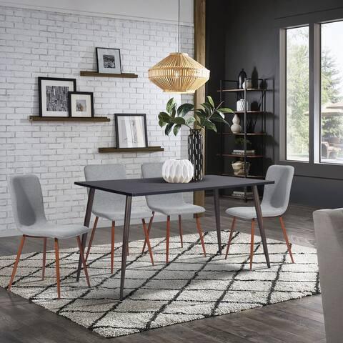 Furniture R Mid-century Modern 5 Piece Dining Set
