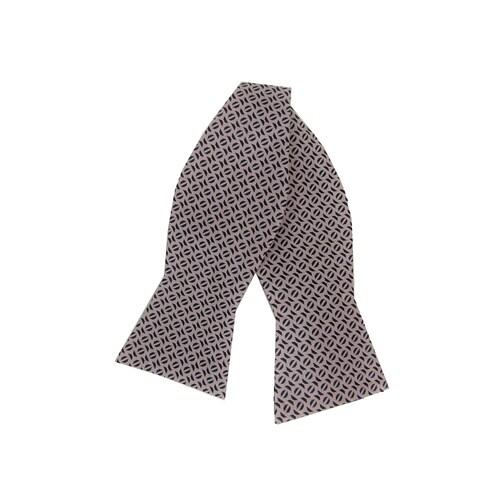 Ryan Seacrest Distinction Pink Mens One Size Award Silk Bow Tie