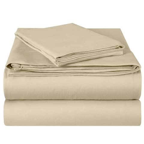 EnvioHome Hotel Quality Soft Cotton Deep Pocket Jersey Knit Sheets Set
