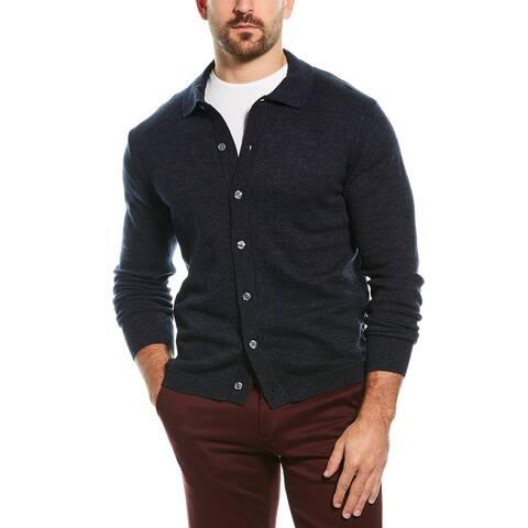J.Crew Wool-Blend Polo Cardigan