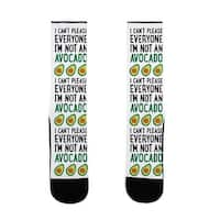 LookHUMAN I Can't Please Everyone I'm Not An Avocado US Size 7-13 Socks