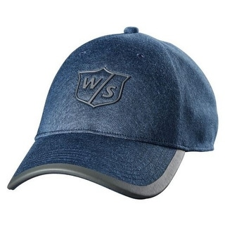 Wilson Women Staff One Touch Cap Tour Golf Hat Denim Adjustable 4 Colors WGH594 One Size