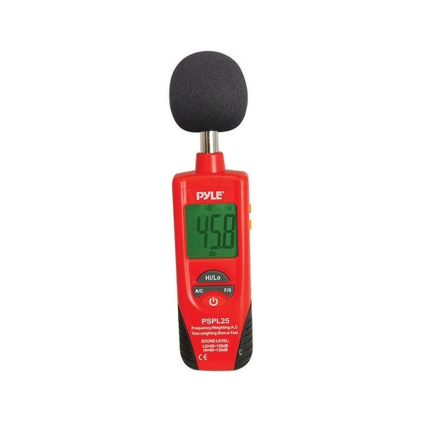 Pyle sound level meter(red/black color)