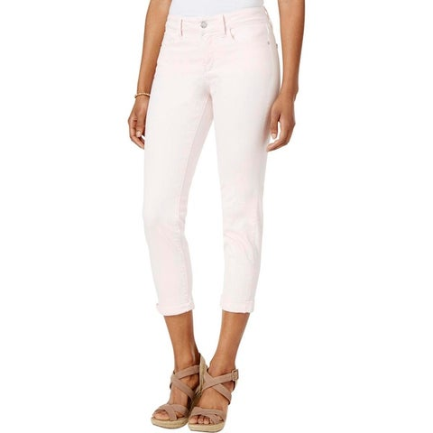 NYDJ Womens Alina Ankle Jeans Colored Convertible