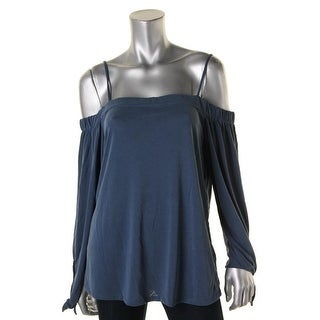 Ella Moss Womens Blouse Modal COLD SHOULDER