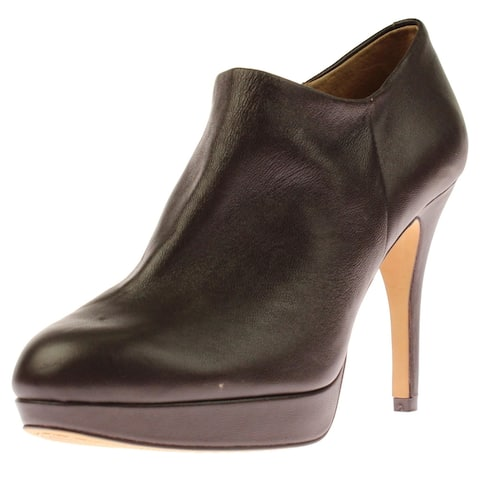 Vince Camuto Womens Elvin Booties Leather Platform