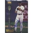 Roger Salkeld Seattle Mariners 1994 Signature Rookies TETRAD Autographed Card  Rookie Card  Certifi